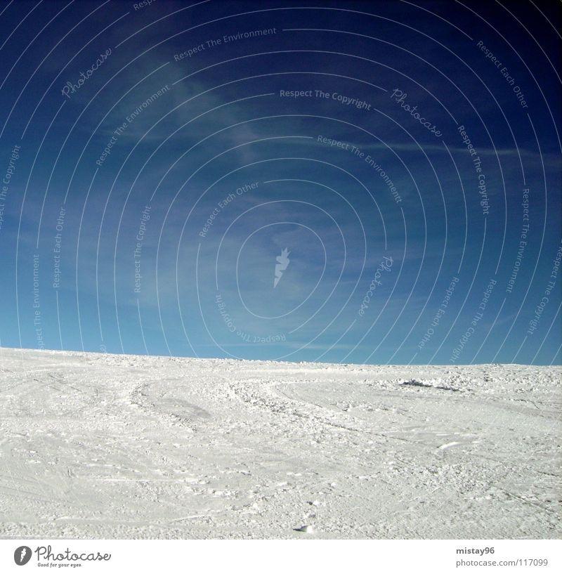 let`s go skiing Himmel Natur blau Winter Freude Schnee Berge u. Gebirge Freiheit Glück Schönes Wetter grinsen