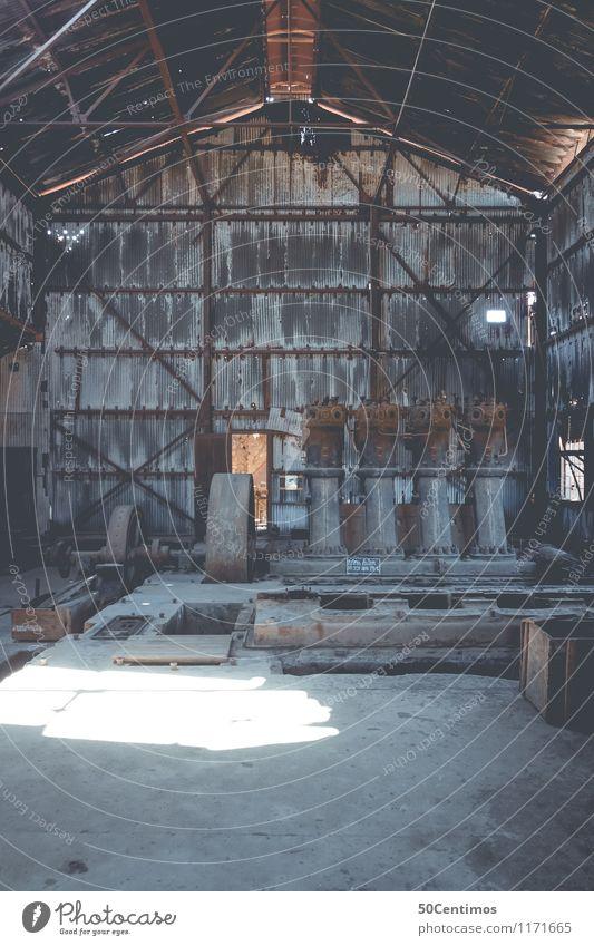 Motorenhaus Abenteuer Maschine Fortschritt Zukunft Energiewirtschaft Industrie Chile Menschenleer Industrieanlage Ruine Sehenswürdigkeit Metall Rost alt