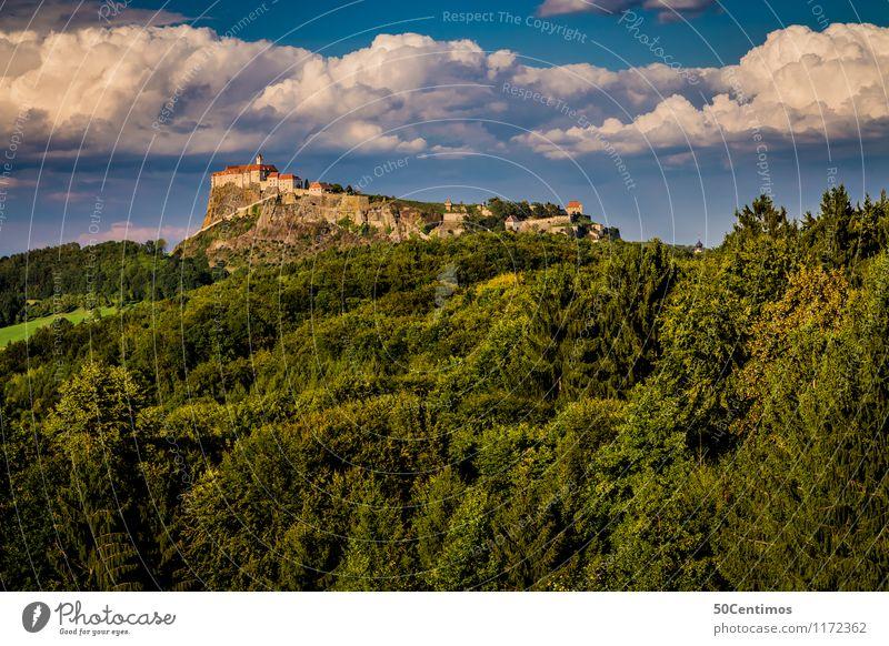 Riegersburg am Waldesrand Natur Ferien & Urlaub & Reisen schön Sommer Erholung Landschaft ruhig Wolken Berge u. Gebirge Freiheit Tourismus Ausflug