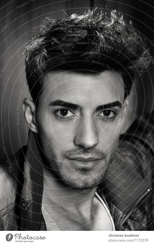 Model Ibrahim Mensch Jugendliche Mann schön Erotik 18-30 Jahre Erwachsene Auge Haare & Frisuren elegant modern Lächeln Sex einzigartig Duft