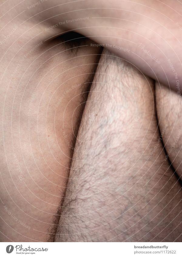 s'approcher Mensch Jugendliche Mann nackt Junger Mann 18-30 Jahre Erwachsene natürlich Beine Haare & Frisuren maskulin Behaarung Körper authentisch ästhetisch