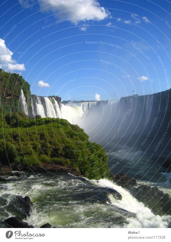 Abschiednehmen =( VII Strömung Berghang Brasilien Argentinien Kunst Wassermassen Pflanze Gewässer Tourismus Baum Wolken Horizont Wassertropfen Tourist Gischt