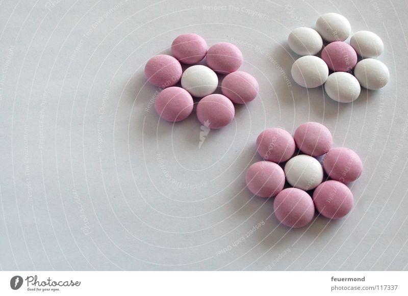 Linsen-Legespiel 2 Blume Blüte Feste & Feiern Geburtstag süß Süßwaren Schokolade Zucker Linse Kindergeburtstag Schokolinsen