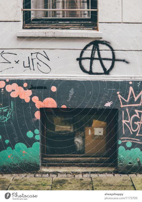 Schöner Leben in Hamburg Altona - Teil 1 Stadt alt Haus Fenster Wand Graffiti Stil Mauer Freiheit Stein Kunst Lifestyle Fassade Häusliches Leben Glas