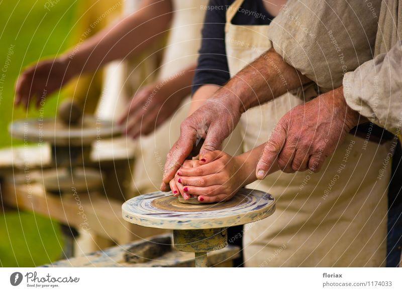 töpferkurs Mensch Hand ruhig feminin Kunst Arbeit & Erwerbstätigkeit maskulin Freizeit & Hobby authentisch Technik & Technologie Bildung Beruf Vertrauen