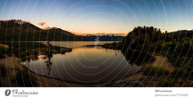 panorama of national park Los Alerces Natur Ferien & Urlaub & Reisen Sommer Erholung Einsamkeit Landschaft ruhig Ferne Wald Berge u. Gebirge Frühling Herbst