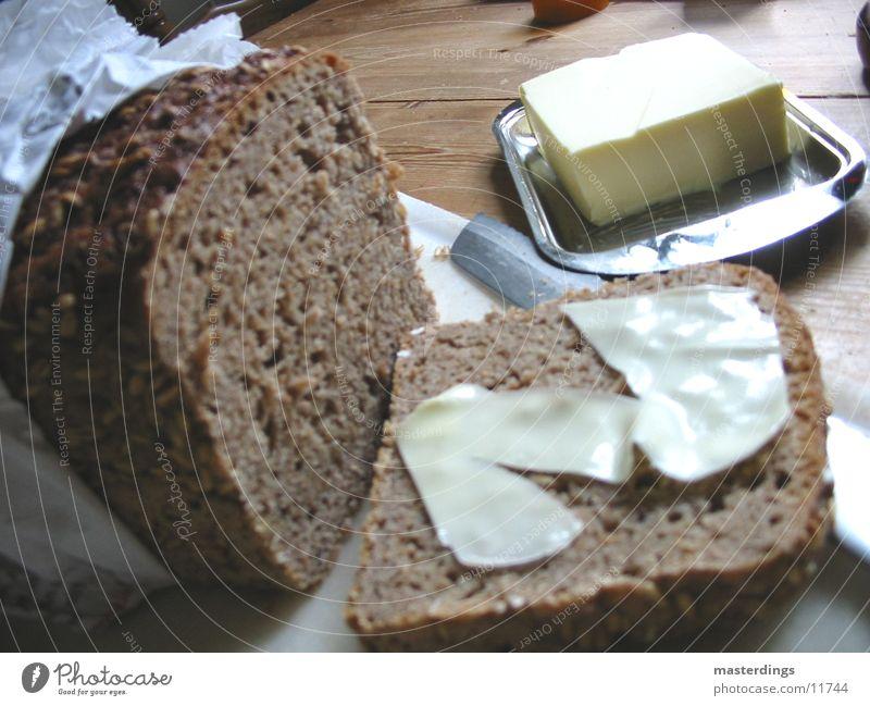 Brotmahlzeit Belegtes Brot Frühstück Abendessen Ernährung