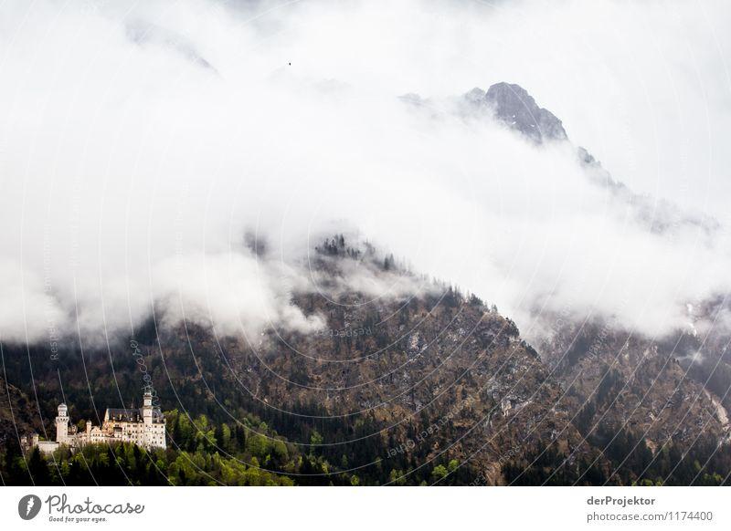 Ein Märchenschloss zum *777* Natur Ferien & Urlaub & Reisen Landschaft Ferne Berge u. Gebirge Umwelt Gefühle Freiheit Tourismus Ausflug Gipfel Hügel Alpen