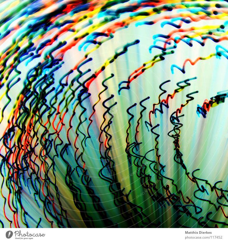 Fasern Farbe gelb Traurigkeit Beleuchtung Hintergrundbild Party Lampe orange glänzend leuchten Erde hoch Geschwindigkeit Kreis Flugzeug Weltall
