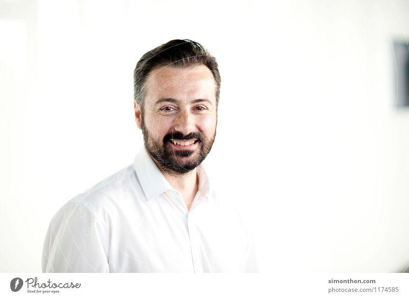 Business Portrait Mensch Erwachsene sprechen Glück Business maskulin Büro Kraft Erfolg Fröhlichkeit Kommunizieren Coolness Macht Netzwerk Bildung Vertrauen