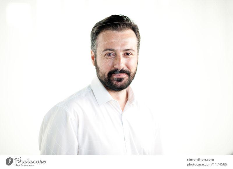 Business Portrait Mensch Freude Stil Glück Lifestyle maskulin Zufriedenheit Büro Erfolg Zukunft planen Macht Netzwerk Team Vertrauen