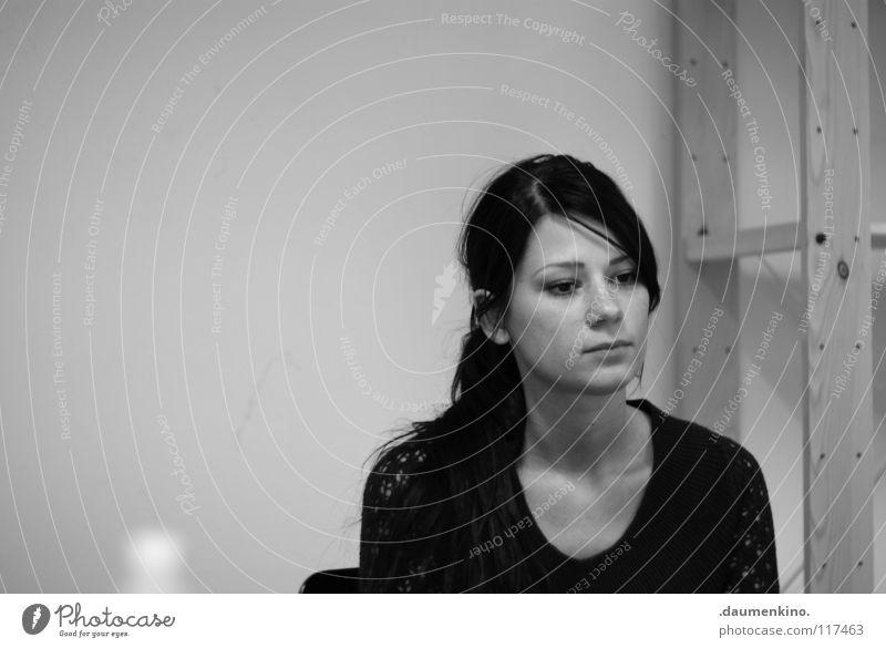 Effektivität in Perfektion Frau authentisch Langeweile Dame Haare & Frisuren Student
