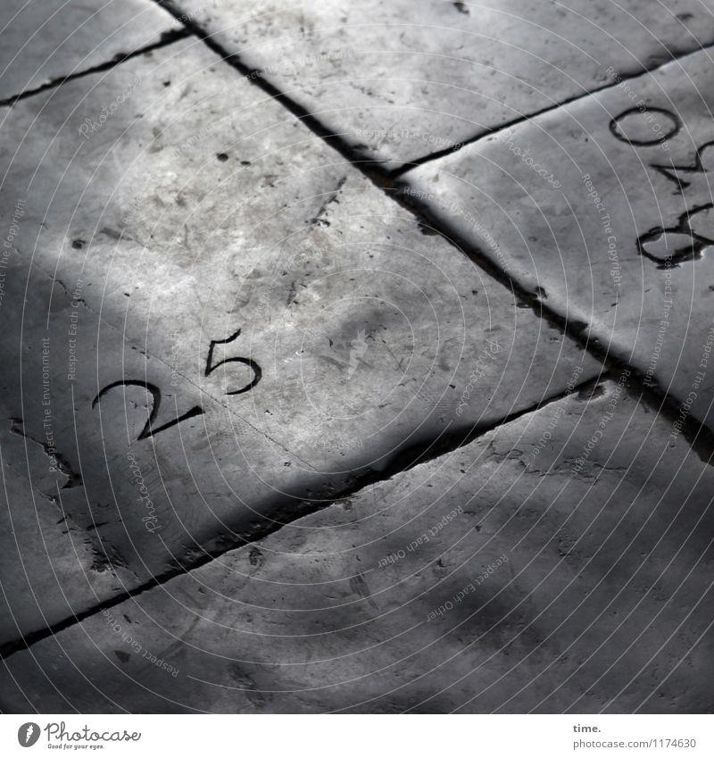 unscheinbares Detail  25 alt ruhig dunkel Leben Wege & Pfade Zeit Stein grau Design Linie glänzend Kirche Kreativität authentisch Idee historisch