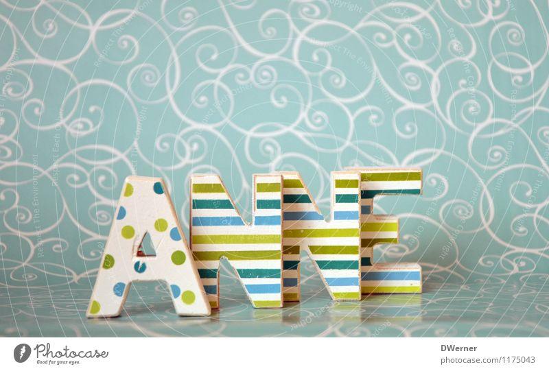 ANNE schön Architektur Stil Kunst Design Dekoration & Verzierung Ordnung Schilder & Markierungen stehen Perspektive Schriftzeichen Hinweisschild Papier Zeichen