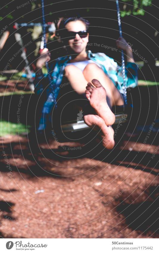 Schaukeln Lifestyle Reichtum Gesundheit Freizeit & Hobby Spielen Kinderspiel schaukeln Freiheit Sport Junge Frau Jugendliche Erwachsene 1 Mensch Salzburg