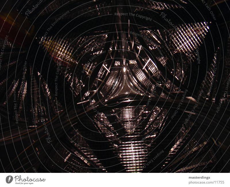 iron-power Metall hoch Turm Netz Stahl Aussicht tief obskur Gitter