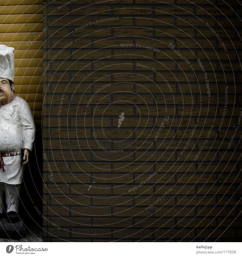 halbe schrippe Mann weiß Arbeit & Erwerbstätigkeit offen geschlossen Ernährung süß Kochen & Garen & Backen heiß Übergewicht Werbung Mütze Korn dick