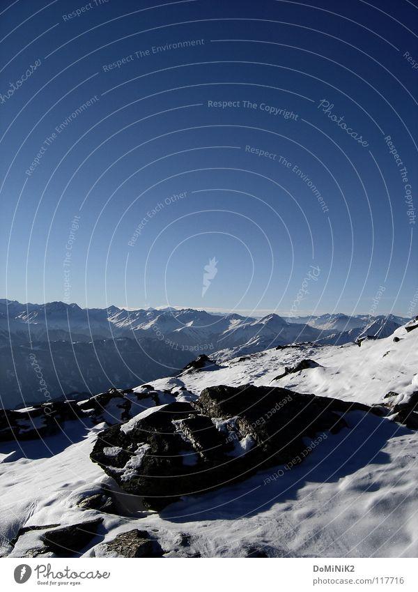 Willkommen im Paradies... Himmel Blauer Himmel Top Gipfel Skigebiet Bundesland Tirol Österreich Fiss Ladis stumm Natur Bergkette Panorama (Aussicht)