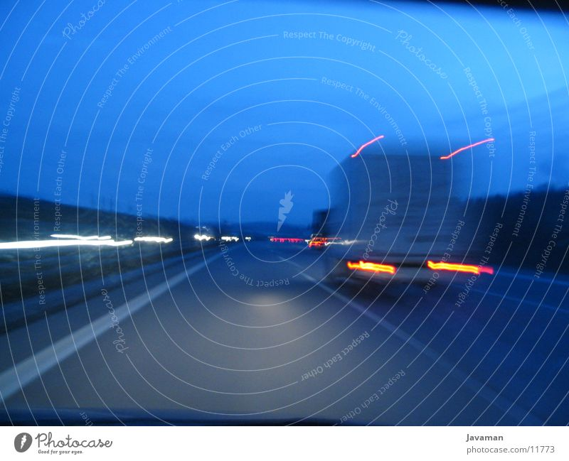 cliodrive Straße PKW Verkehr Autobahn Belichtung