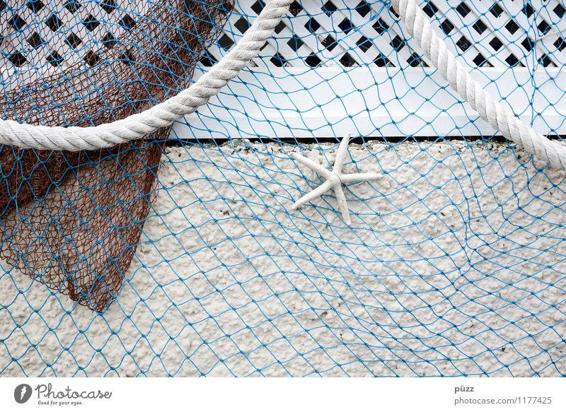 Maritim Ferien & Urlaub & Reisen blau weiß Wand Holz Mauer grau Schwimmen & Baden Stein Fassade Freizeit & Hobby Dekoration & Verzierung Tourismus ästhetisch