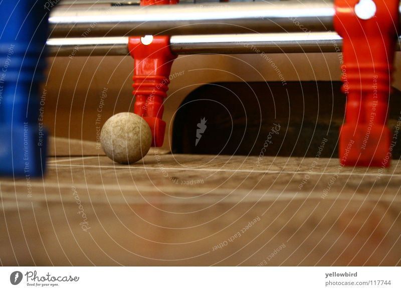 Der Torwart #2 Sport Spielen Sportmannschaft Ball Tischfußball 11