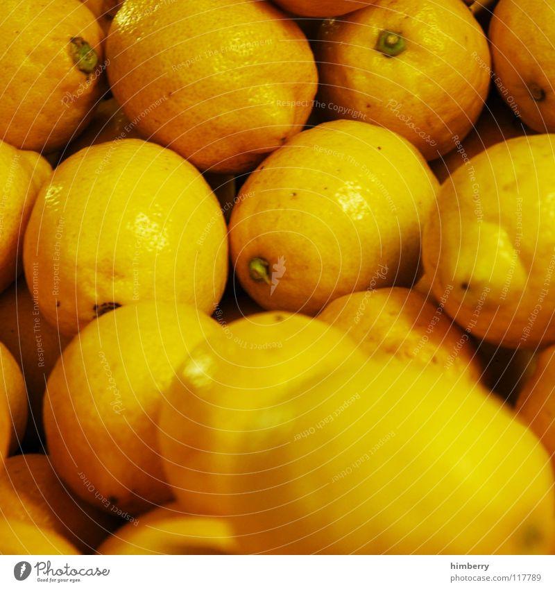zitronencase Zitrone frisch gelb Saft Zitronensaft Wochenmarkt Gesundheit Vitamin Frucht Makroaufnahme Nahaufnahme Wut Markt Natur himbeertoni