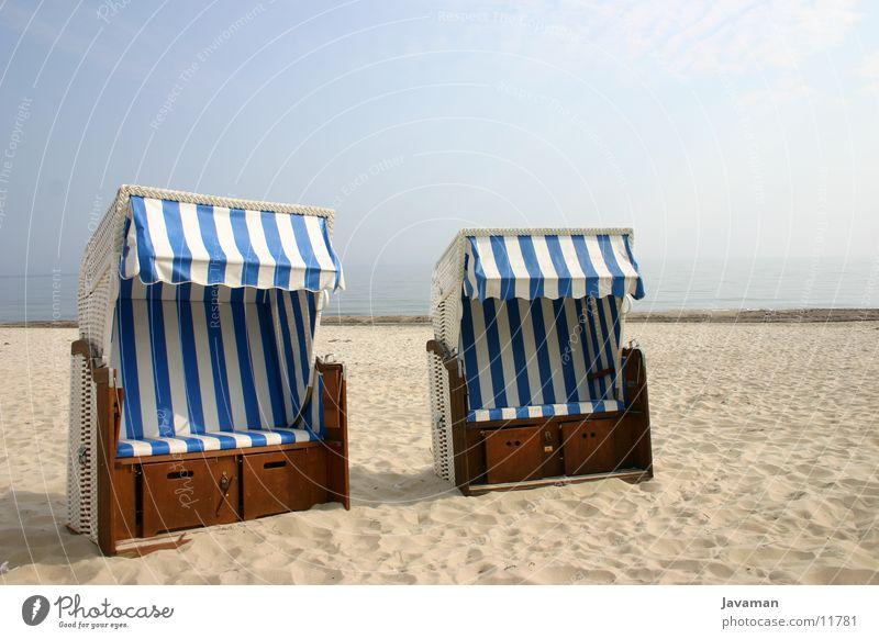 Entspannung Strand Strandkorb Rügen Binz Europa Sand Strandmuschel Ostsee Göhren