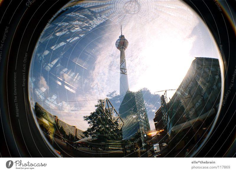 Alexanderplatz - Potsdamer Platz Stadt Berlin Gebäude Hochhaus Denkmal Wahrzeichen Berliner Fernsehturm