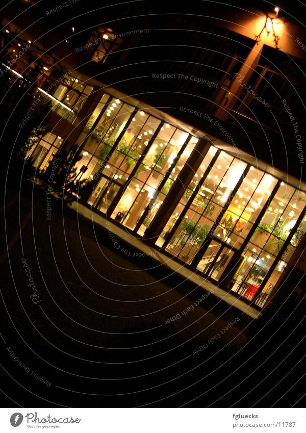 Kurhaus bei Nacht Haus Architektur Einblick