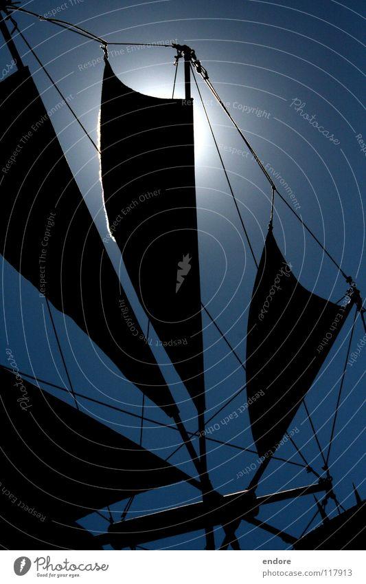 Sonnensegel Himmel blau Sommer Ferien & Urlaub & Reisen Wind Himmelskörper & Weltall Mühle Sonnenfinsternis