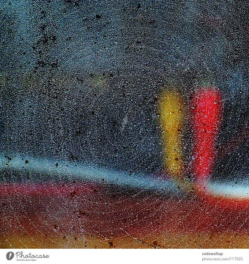 tweedle dee & tweedle dum Kraft Elektrizität abstrakt gelb rein Fenster kondensieren rot Stecker Zwilling Radio Elektrisches Gerät Technik & Technologie cable