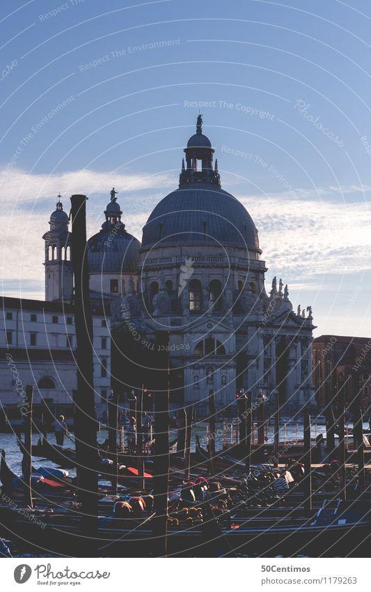 Venedig Ferien & Urlaub & Reisen Tourismus Ausflug Sightseeing Städtereise Himmel Horizont Sonnenaufgang Sonnenuntergang Frühling Sommer Herbst Schönes Wetter