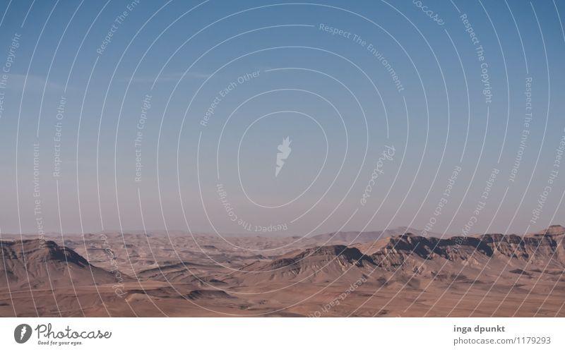 Durch die Wüste... Himmel Natur Ferien & Urlaub & Reisen Sommer Sonne Einsamkeit Landschaft Ferne Umwelt Berge u. Gebirge Wärme Felsen Horizont Tourismus Erde