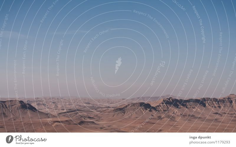 Durch die Wüste... Umwelt Natur Landschaft Urelemente Erde Sonne Sommer Klima Klimawandel Schönes Wetter Wärme Dürre Felsen Berge u. Gebirge Israel Negev heiß