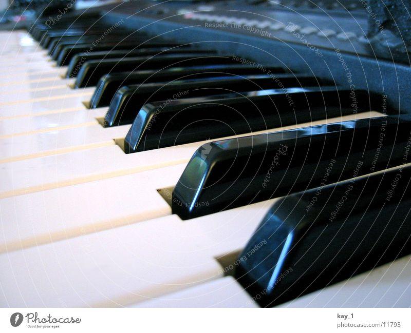 Black & White Klavier Werkstatt Klaviatur Radio
