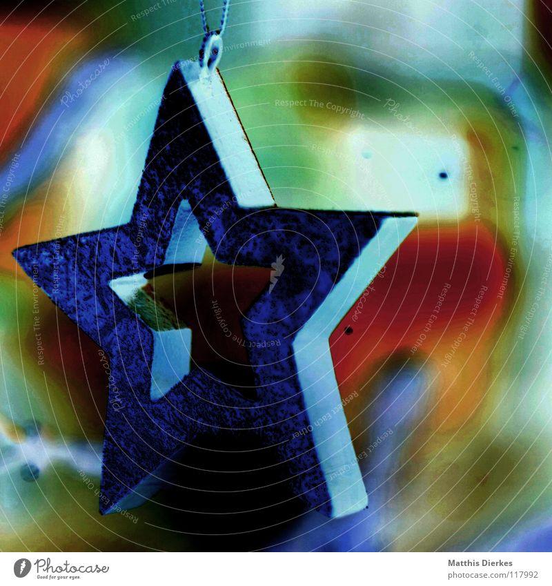 Stern blau Weihnachten & Advent grün schön rot Sommer Farbe träumen Hintergrundbild orange frisch verrückt Stern (Symbol) süß neu fantastisch