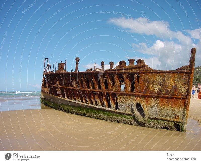 Mohena Wreck historisch Wasserfahrzeug Schiffswrack