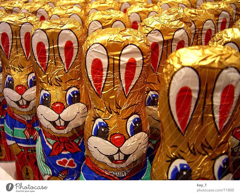 Oster-Mannschaft Frühling Ostern Freizeit & Hobby Süßwaren Schokolade Hase & Kaninchen Osterhase
