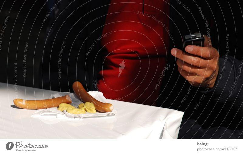 die unendliche Suche nach dem perfekten Klingelton Hand Essen Arbeit & Erwerbstätigkeit China Ernährung Europa paarweise Telefon Ruhrgebiet Pause Kommunizieren