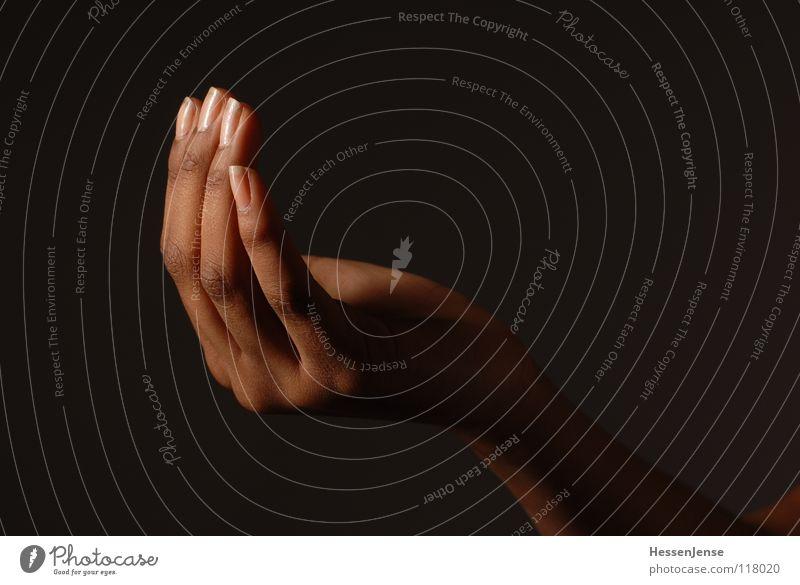 Hand 16 Finger Gefühle einheitlich widersetzen Rede Diskurs geben bedeuten Aktion Zusammensein Wachstum Götter Allah Hintergrundbild links Schmuck rechts