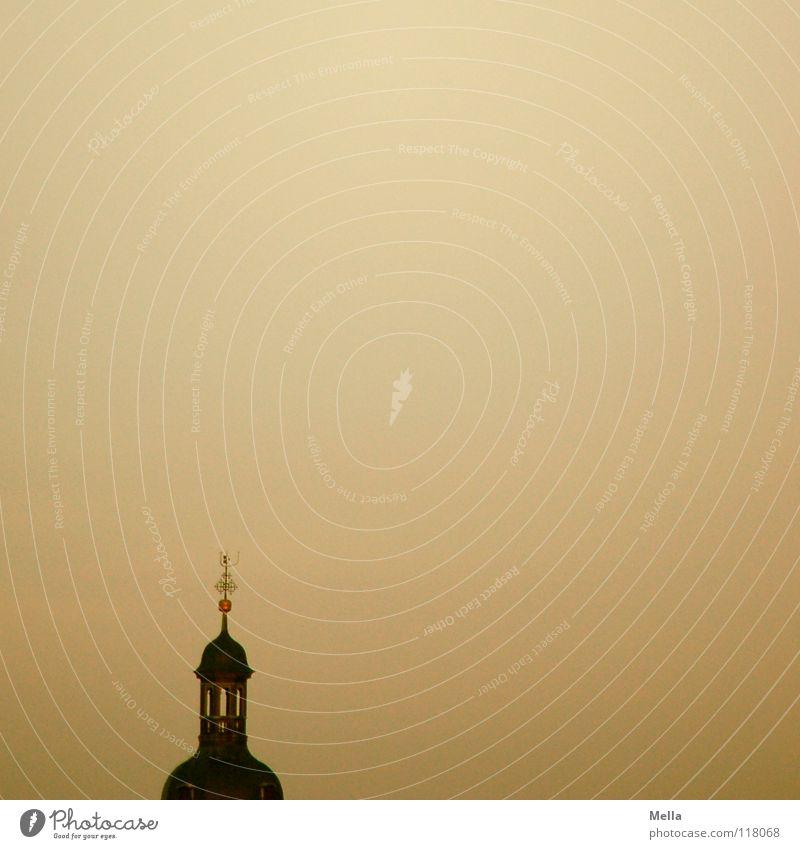 Gottesanbeterin grau Religion & Glaube braun Beleuchtung gold hoch rund Turm Spitze unten Kugel Reichtum Gebet Meinung erleuchten Rede
