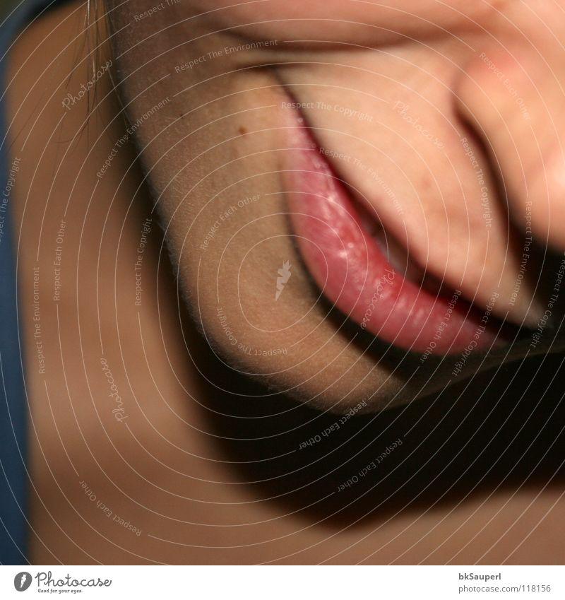 ein lächeln Frau blau schön rot Freude Erwachsene Gesicht Kopf lachen Zufriedenheit Mund offen Nase Erfolg Hoffnung gut