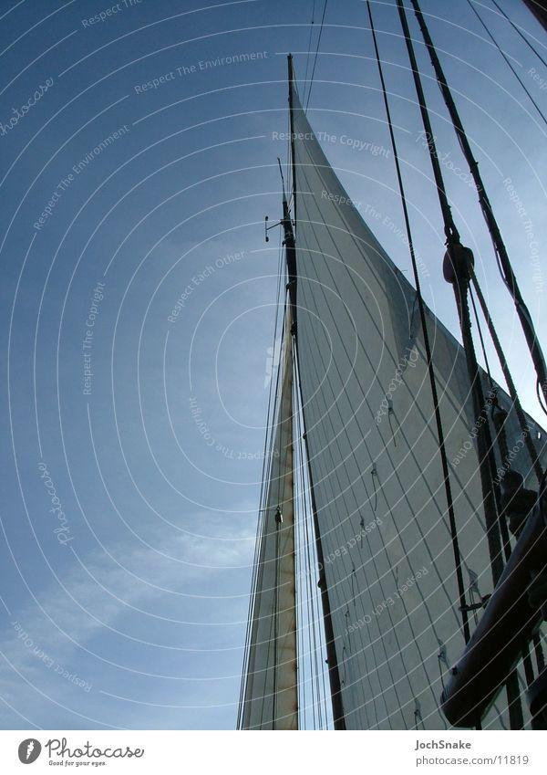 Segel Segelschiff Niederlande Segeltörn Meer See Europa Himmel Wind Wasser