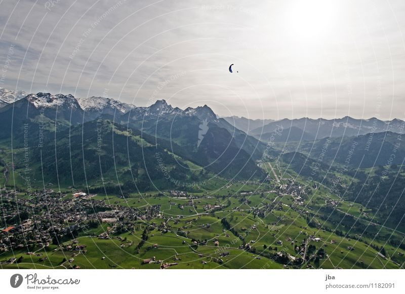 Soaring am Hornberg 2 Himmel Sommer Erholung Landschaft ruhig Berge u. Gebirge Frühling Sport fliegen Lifestyle Freizeit & Hobby Zufriedenheit Luft Luftverkehr