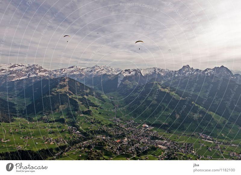 Soaring am Hornberg 3 Natur Sommer Erholung ruhig Berge u. Gebirge Frühling Sport Freiheit fliegen Lifestyle Freizeit & Hobby Zufriedenheit Luft Luftverkehr