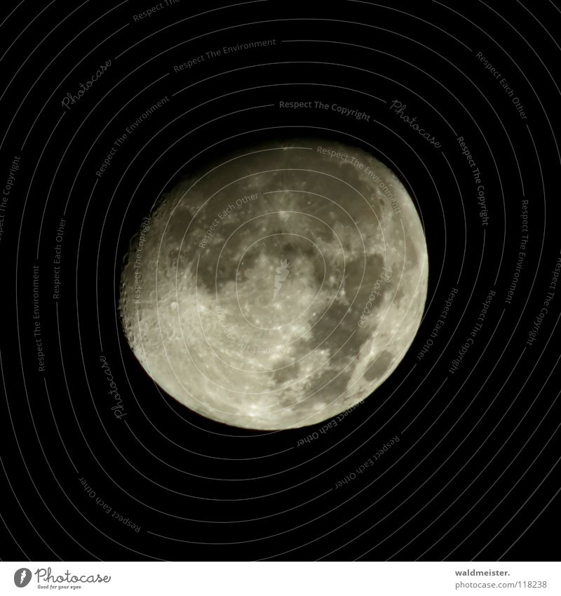 Mondsüchtig Himmel träumen Planet Himmelskörper & Weltall Astronomie Astrologie Vulkankrater Werwolf Astrofotografie