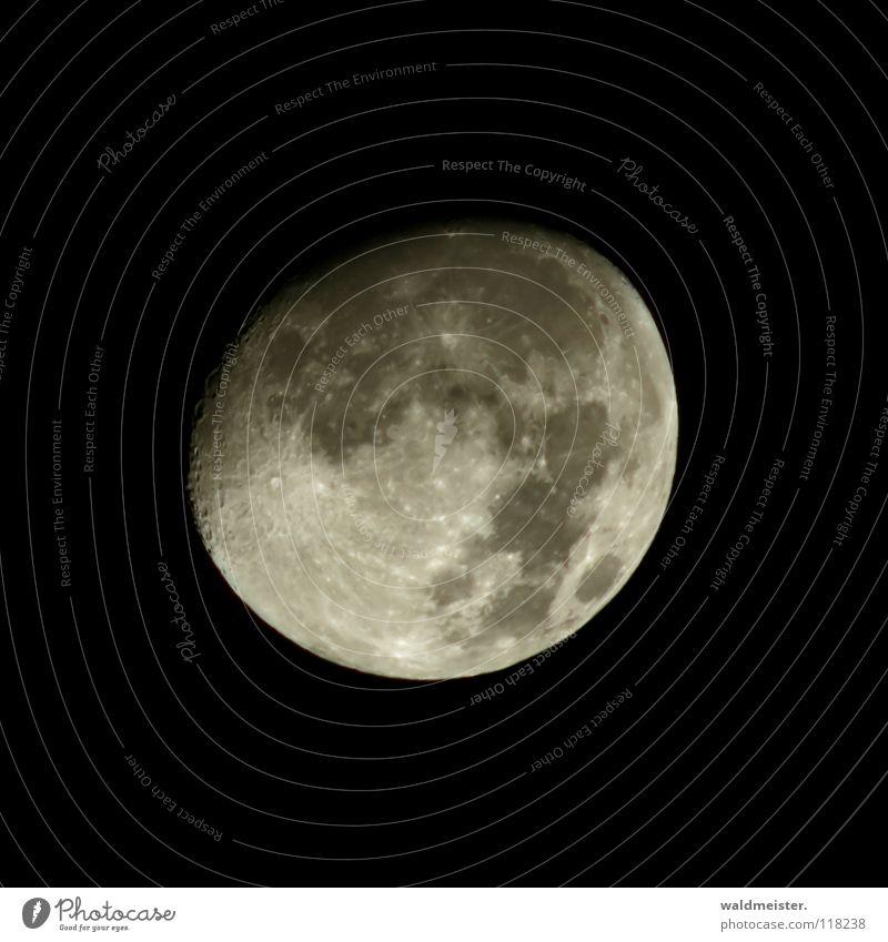 Mondsüchtig Planet Astronomie Astrologie Astrofotografie Vulkankrater träumen Werwolf Himmelskörper & Weltall zunehmend Erdmond Luna lunar Mann im Mond Cover