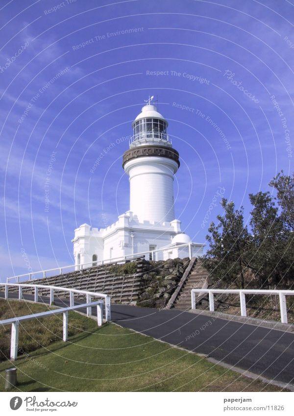 Lighthouse Cape Byron Leuchtturm Australien See Küste Licht Architektur