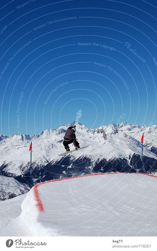 shifty stalefish Himmel Ferien & Urlaub & Reisen blau Freude Winter Berge u. Gebirge Schnee Sport Freiheit fliegen springen Freizeit & Hobby hoch Alpen