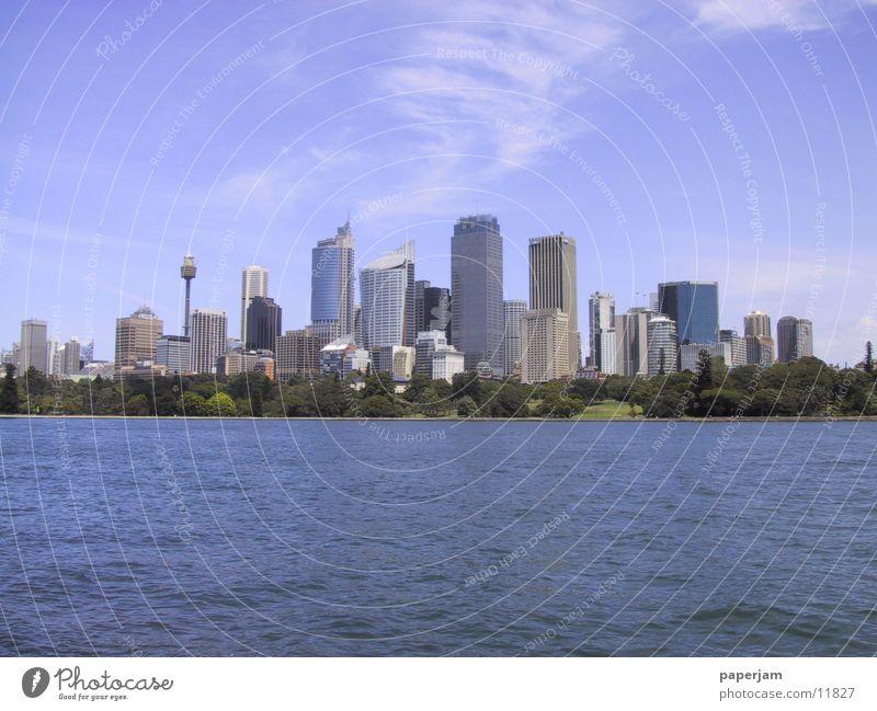 Sydney Skyline Architektur Hochhaus Skyline Australien Sydney